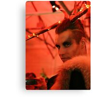 Dark Mofo Winter Feist 2014 Reindeer man 2 Canvas Print