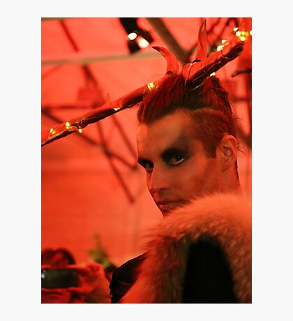 Dark Mofo Winter Feist 2014 Reindeer man 2 Photographic Print