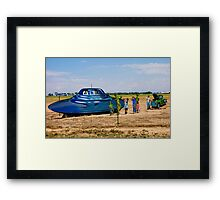 Lost in Roswell Framed Print