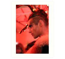 Dark Mofo Winter Feist 2014 Reindeer man 3  Art Print