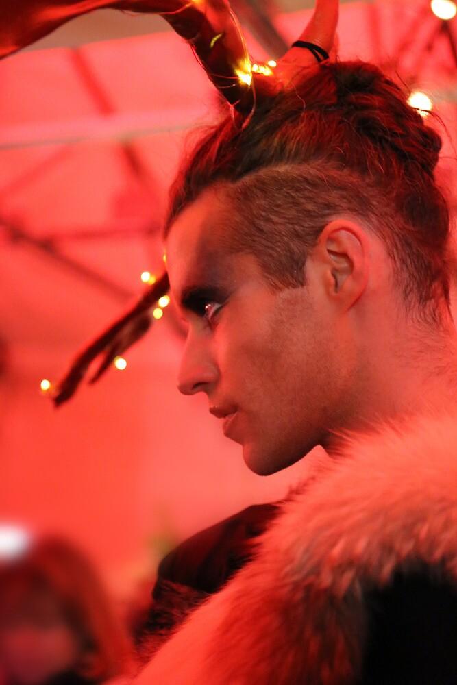 Dark Mofo Winter Feist 2014 Reindeer man 3  by eisblume