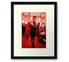 Dark Mofo Winter Feist 2014 Reindeer man  4 Framed Print