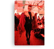 Dark Mofo Winter Feist 2014 Reindeer man  4 Canvas Print