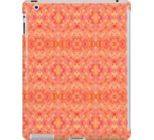 Hand-Painted Abstract Watercolor in Orange Tangerine iPad Case/Skin