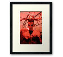 Dark Mofo Winter Feist 2014 Reindeer man 5 Framed Print