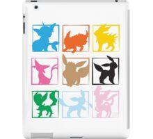 Eeveelutions 3x3 (Grid) iPad Case/Skin