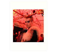 Dark Mofo Winter Feist 2014 Reindeer man 6 Art Print