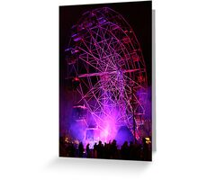 Ferriswheel of Death, Dark Mofo 2014  Greeting Card