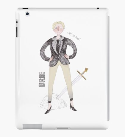 Contemporary Brie as a classy liberal feminist iPad Case/Skin