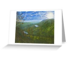 Lustrous Longwood Greeting Card