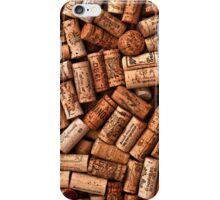 Wine corks textures iPhone Case/Skin