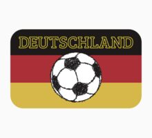 Deutschland flag | Football by piedaydesigns