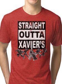 Straight Outta Xavier's •X-Men Compton Parody Tri-blend T-Shirt