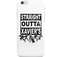 Straight Outta Xavier's •X-Men Compton Parody iPhone Case/Skin