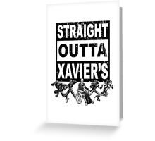 Straight Outta Xavier's • X-Men Compton Parody Greeting Card