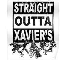 Straight Outta Xavier's •X-Men Compton Parody Poster