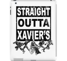 Straight Outta Xavier's • X-Men Compton Parody iPad Case/Skin