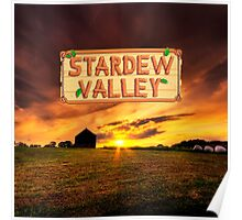 Stardew Valley - Afternoon in the farm. Poster