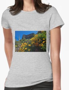 Just A Little Sunshine Womens Fitted T-Shirt
