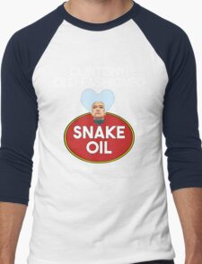 Clinton's Old-Fashioned Snake Oil Men's Baseball ¾ T-Shirt