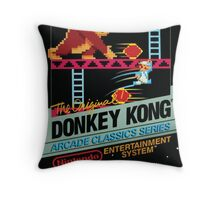 Donkey Kong (NES Cover) Throw Pillow