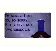 Dr. Who Silence in the Library Art Print