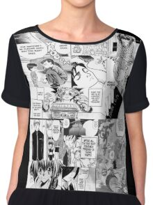My Manga-reading Journey Chiffon Top