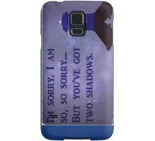 Dr. Who Silence in the Library Samsung Galaxy Case/Skin