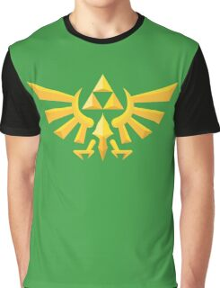 (Geometric) Zelda Triforce Graphic T-Shirt
