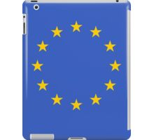 Living EU Flag iPad Case/Skin