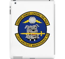 116th Aircraft Maintenance Squadron - Dagger Dawgs Leading The Pack iPad Case/Skin