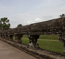 Angkor Wat by Marylou Badeaux