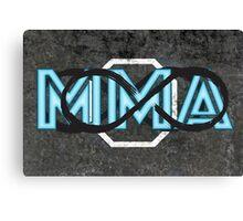 Infinite MMA Canvas Print