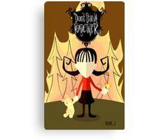 Dont Starve Together -- Willow Canvas Print