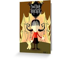 Dont Starve Together -- Willow Greeting Card