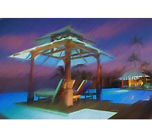 Tropical Nightscape Photographic Print