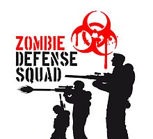 Zombie Defense Squad Soldiers by Style-O-Mat