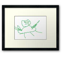 Urgot Framed Print
