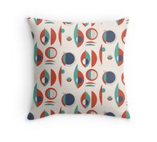 Retro Corners Throw Pillow