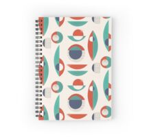 Retro Corners Spiral Notebook