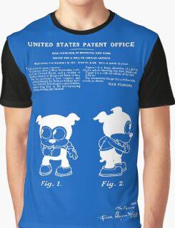 Bimbo Patent - Blueprint Graphic T-Shirt