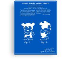 Bimbo Patent - Blueprint Canvas Print