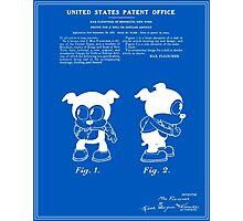 Bimbo Patent - Blueprint Photographic Print