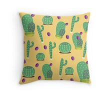 Cactus and Friends Maggic Throw Pillow