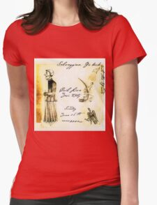 coil - selvaggina, go back into the woods Womens Fitted T-Shirt
