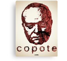 Icons - Truman Copote Canvas Print