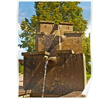 Water Feature in Wales Poster