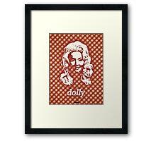 Icons - Dolly Parton Framed Print