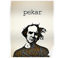 Icons - Harvey Pekar Poster