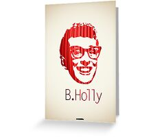 Icons - Buddy Holly Greeting Card